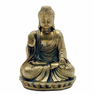Brass Protection / Blessing Buddha 4 inch