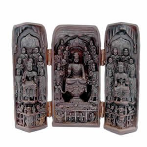 Tibetan Buddha Trinity