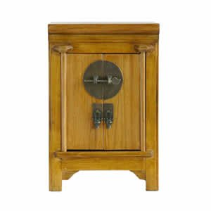 Natural Wood Armoire - 13 inch