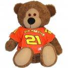"""#21 Kevin Harvick """"Reeses"""" 7.5 inch Bear"""
