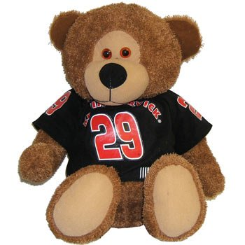 """#29 Kevin Harvick """"GM Goodwrench"""" 14 inch Bear by Young Guns, Inc."""