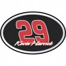 #29 Kevin Harvick Color Auto Emblem Team Promark