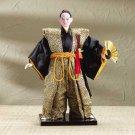 Japanese Samurai Doll With Fan