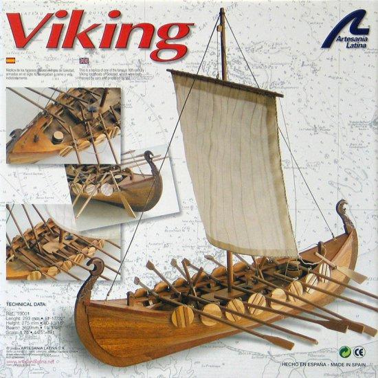 Artesania Latina Viking Dragon Boat Wooden Model Ship Kit 1:75 Scale