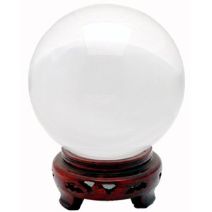 Crystal Ball - Clear - 7.8 Inches
