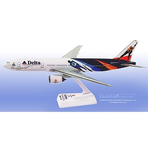 "Flight Miniatures - Delta 777-400 ""Olympics"" (1:200)"