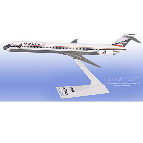 Flight Miniatures - Delta MD-80 (Old Colors) (1:200)