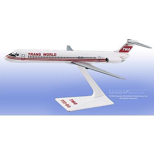 Flight Miniatures - TWA MD-80 Interim Colors (1:200)