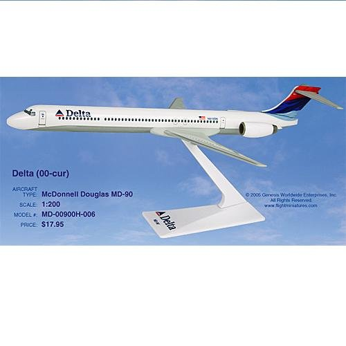 Flight Miniatures - Delta MD-90 (New Colors) (1:200)