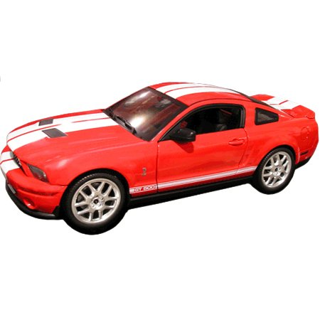 """Elite"" Ford Mustang Shelby GT500 Red 1/18 Diecast Car by Mattel Hot Wheels"