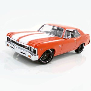 1969 Strope Z-28 Orange Nova 1/18 Diecast Car Limited Edition By GMP -G1801919
