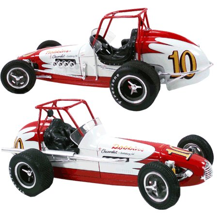 #10 Poncho Carter Roll Cage Dirt Champ 1/18 Sprint Car By GMP -G1800507