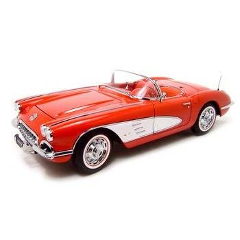 Auto Art 1959 Chevrolet Corvette Red 1:18 Diecast Model