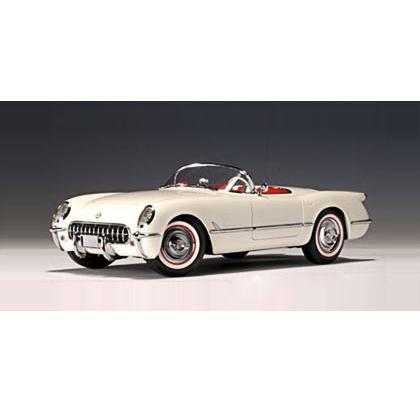 Auto Art 1953 Polo White Corvette 1/18 Diecast Car
