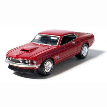 1969 Mustang Boss 429 Royal Maroon 1/64 Car Muscle Car Garage Series By GreenLight
