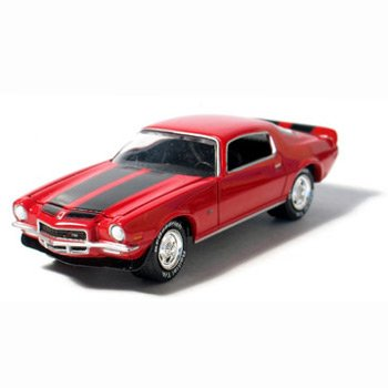 1971 Chevy Camaro Z28 Cranberry Red 1/64 Car Muscle Car Garage Series By GreenLight