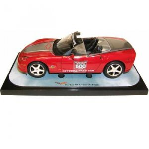 2005 Indy 500 Red/Silver Convertible Corvette 1/24 Pace Car Pace Car Garage Series