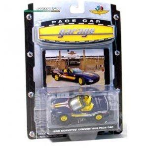 1998 Indianapolis 500 Purple/Yellow Corvette Conv. 1/64 Pace Pace Car Garage Series