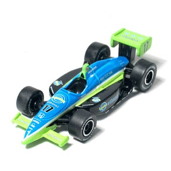 Jeff Simmons - Rahal Letterman Racing 1/64 IRL Car 2006 IndyCar Garage Series by GreenLight
