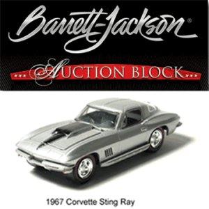 """1967 """"The Last Sting Ray"""" 1/64 Corvette in Barrett-Jackson Packaging"""