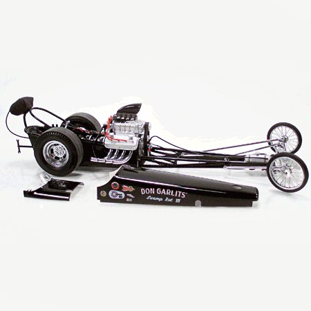 Don Garlits Swamp Rat VII 1/18 Diecast Vintage Rail/Dragster Limited Edition By GMP