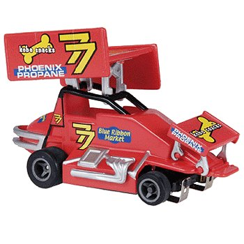 #77 Renegade Racer Electric Slot Sprint Car Life-Like Products -433-9850
