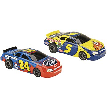 NASCAR Twin Pack Kellogg's/Dupont Electric Slot Cars Life-Like Products -433-9031