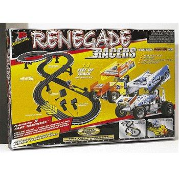 Renegade Racers Electric Slot Racing Sprint Car Set Life Like Products -433-9695
