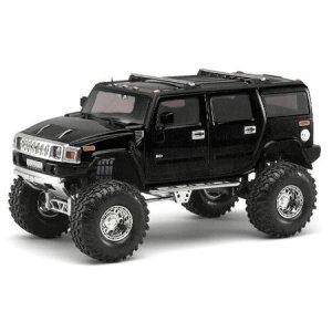 Black H2 Hummer 1/24 Diecast SUV