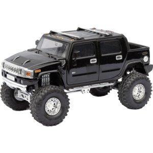 Black H2 Hummer 1/24 Diecast SUT