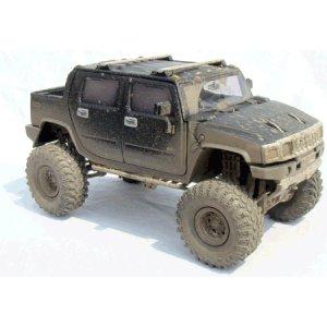 Black H2 Hummer 1/24 Diecast SUT -Extreme Boggin Version'