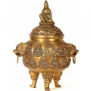 Kuan Yin Incense Burner