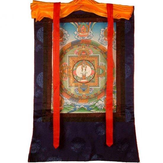 Mandala of Eleven Headed Avalokiteshvara