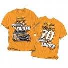 "#70 Johnny Sauter Orange ""Yellow Racing"" Tee"
