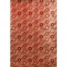Red Kaleidoscope Fabric