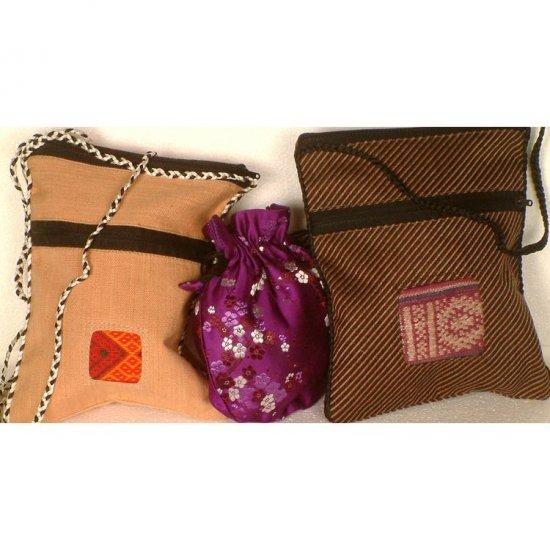Assorted Lot of Three Handbags