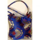 Royal Blue Banarasi Brocaded Handbag