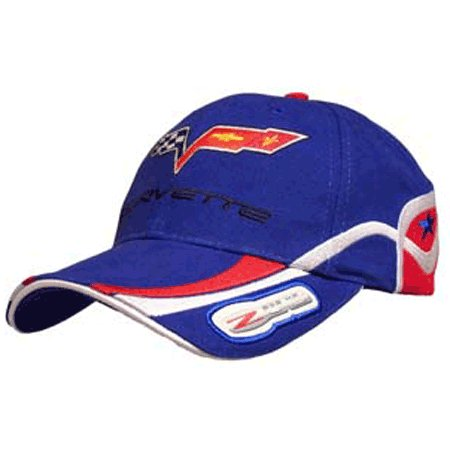 Corvette C6 Z06 505 HP Highly Detailed Embroidered Cap BLUE