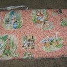 Beatrix potter peter rabbit crib bumper