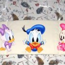 Mickey Mouse and gang crib bumper