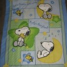 Snoopy 3D  crib quilt