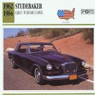 1963 63 STUDEBAKER GRAN TURISMO HAWK COLLECTOR