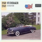 1948 48 STUDEBAKER COMMANDER CONVERTIBLE COLLECTOR