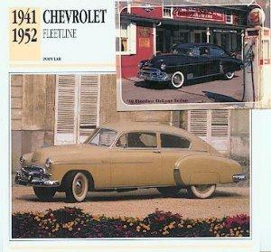 1950 50 CHEVY CHEVROLET DELUXE FLEETLINE SEDAN
