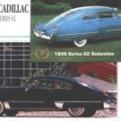 1948 48 1949 49 CADILLAC SERIES 62 CLUB COUPE SEDANETTE