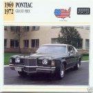 1969 69 1970 1971 1972 72 PONTIAC GRAND PRIX COLLECTOR