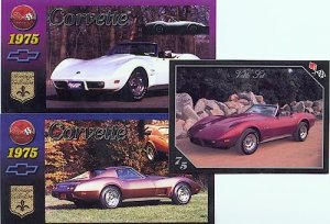 1975 75 CHEVY CORVETTE VETTE COLLECTIBLE VETTES