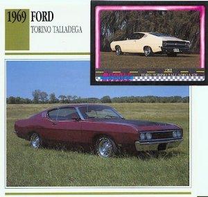 1969 69 FORD TORINO TALLADEGA 428 COLLECTOR CLASSIC