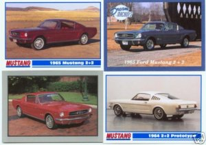 1964 64 1965 65 FORD MUSTANG 2+2 FASTBACK COLLECTIBLE