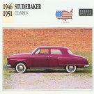 1946 47 1948 49 1950 1951 STUDEBAKER CHAMPION COLLECTOR